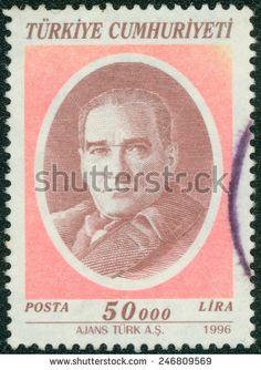 Turkey Stamp 1996 - Mustafa Kemal Ataturk