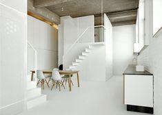 Loft FOR, Bruselas (Bélgica) | adn Architectures | 2013  + http://www.archdaily.com/456914/loft-for-adn-architectures  # Rehabilitación antiguo edificio industrial