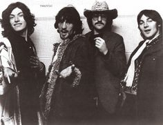 Traffic:1969: Steve Winwood, Jim Capaldi, Dave Mason and Chris Wood