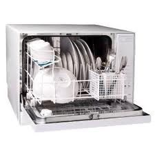 One of the best known brand names in portable dishwashers is Danby. You can find the top rated Danby portable dishwashers below, as well as other great brand names. You search for a good portable dishwasher ends here! Table Top Dishwasher, Countertop Dishwasher, Portable Dishwasher, Black Dishwasher, Countertops, Miele Dishwasher, Dishwasher Detergent, Small Space Living, Small Spaces