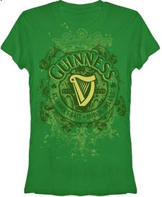 c3bf5e464ae This women s Guinness tshirt features the famous Irish beer brand s logo  sitting on top a bed