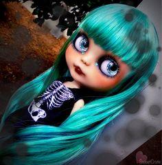 Vyhrazeno profesionál G. Hatsune Miku 86 Custom Blythe Doll