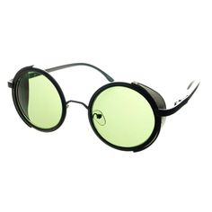 1377fd352f1 Cool Unisex Metal Retro Vintage Steampunk Round Sunglasses R2640 Latest  Sunglasses
