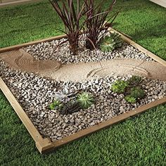 Design A Zen Corner    Basic garden ingredients can be used to great effect even if space is tight.  Harness the power of simplicity and repetition in this project, which incorporates a raised-garden kit, soil, simple gravel and drought-hardy plants. Print out a materials list and step-by-step instructions to do this project.