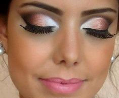 Explosion to white | Make up | Pinterest on We Heart It