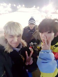 Suwoong (Boys Republic), Sungjae (BTOB) & Ricky (Teen Top)