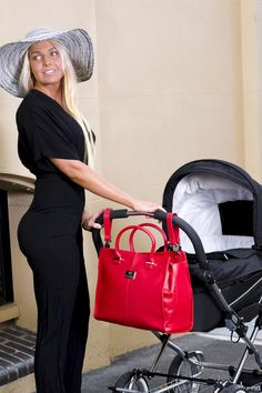 The #diaper bag that converts to a #fashion bag in seconds! The stunning #Amsterdam by #NovaHarley Luxury.  See our website for more details