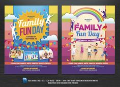 Family Fun Day Flyers on @creativework247
