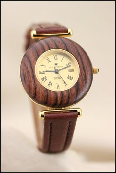 Wood watch Wood watch women Wooden watch Brown by HUMBERTcreations