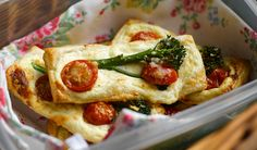 Bimi - Tenderstem®, Ricotta and Cherry Tomato Fingers