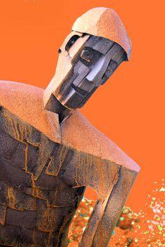 Wissen - Kulturdenkmal am Kreisel - Der Doppler - Stahlskulptur von Arnold Morkramer 2012