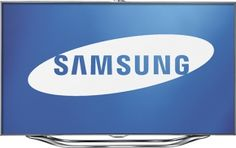Samsung Series 8 LED Silver Flat Panel 3D #HDTV