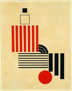 Mechano faktur komposition.  Henryk Berlewi (1894-1967) was a Polish Jewish painter, graphic designer and art theorist. Berlewi is primarily remembered as an abstract artist who paved the way for optical art, but he was also an important figure in Yiddish book design and typography in the early 1920s.