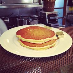 Your favorite #orange #blueberry #pancakes are going to be served up at Chef Bruce's new Cafe #Brentwood! More details on Eater LA: http://la.eater.com/archives/2012/10/08/cafe_brentwood_looking_to_open_before_the_years_end.php  #breakfast