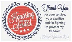 Happy Veterans Day Messages Thank You Remembrance Quotes & Wishes 2019 Veterans Day Poem, Happy Veterans Day Quotes, Free Veterans Day, Veterans Day Images, Veterans Day Thank You, Veterans Day 2019, Veterans Day Activities, Veterans Day Gifts, Thank You Messages