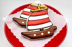 Galleta barco pirata