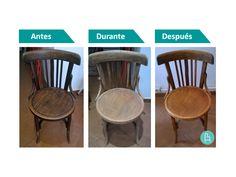 deTaller | Limpieza y restauración de silla de estilo Thonet