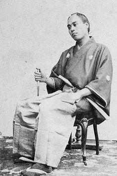 福沢諭吉(幕府使節団 通詞) Yukichi FUKUZAWA, The founder of Keio-Gijuku University.