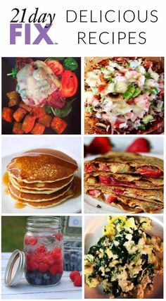 Delicious Clean Eating 21 Day Fix Recipes