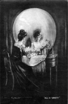 All Is Vanity by Charles Allan Gilbert (1892)