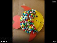 Super avec maïs coloré :) Poisson
