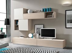 Italian Wall Unit Moon by Spar - $1,725.00