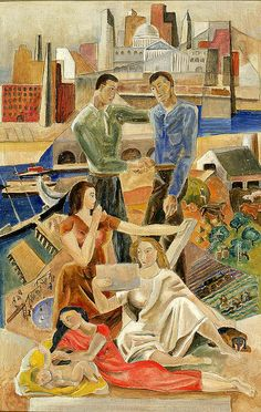 Marguerite Zorach: Commerce and Industry