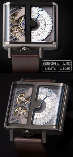 The latest & boldest design yet from XERIC, maker of unusual & affordable mechanical watches.