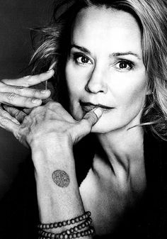 Jessica Lange (1949) - American actress who has worked in film, theater and television. Photo by Bruce Weber