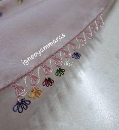 Görümce Çatlatan 40 İğne Oyası Başörtüsü Havlu Kenarı Modeli Baby Knitting Patterns, Lace