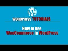 WordPress Tutorial -WordPress Training-How to Use WooCommerce in WordPress - WP Video Training Membership   https://www.wpvideotraining.org/wordpress-tutorial-wordpress-training-use-woocommerce-wordpress/