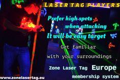 Zone Laser Tag Membership system.