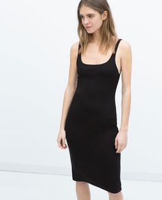 Image 2 of BASIC SLEEVELESS DRESS from Zara