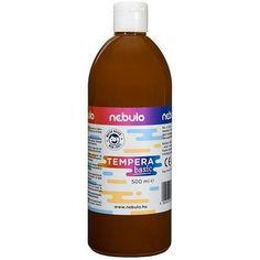 Akciós ! Ft Ár Nebuló tempera nagy kiszerelésben 500 ml - Barna Ft Ár 690 Tempera, Bottle, Flask, Jars