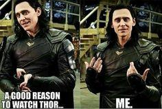 Good enough reason for me #Loki
