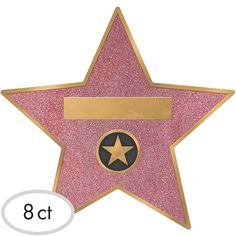 Hollywood Star Decals look like the stars you'd find on Hollywood Boulevard and have room to write down your guest's name. Use these Hollywood decals at your Hollywood party. Beach Party Games, Tween Party Games, Superhero Party, Sleepover Party, Hollywood Red Carpet, Hollywood Stars, Hollywood Boulevard, Hollywood Crafts, Hollywood Sweet 16