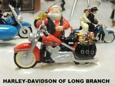 Love the Harley-Davidson Snow Village!!! Harley-Davidson/Buell of Long Branch www.hdlongbranch.com