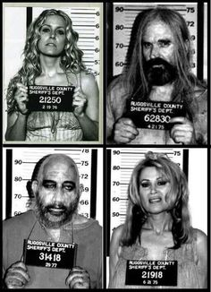 My favorite horror movie from the brilliant and twisted mind of Rob Zombie. This movie is cult and not for the faint of heart. 'The Devil's Rejects' Rob Zombie Art, Rob Zombie Film, Zombie Movies, Scary Movies, Zombie Girl, Horror Icons, Horror Art, Horror Movie Characters, Horror Movies