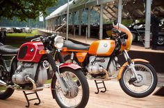 BMW R75/5 and R90S The Stunning Motorcycles of Villa D'Este | Petrolicious
