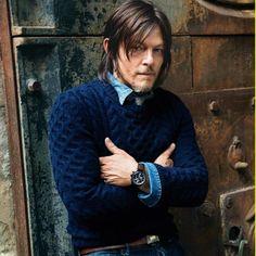 norman reedus | norman reedus, gq, une, classe, costume, The Walking Dead, saison 5 ...