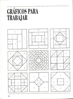 Patchwork Course – Courses and tutorials for crafts - Deutschland Ideen Barn Quilt Patterns, Paper Piecing Patterns, Patchwork Patterns, Patchwork Quilting, Pattern Blocks, Quilting Rulers, Tutorial Patchwork, Patchwork Ideas, Log Cabin Patchwork