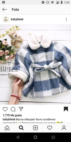 Baby Girl Winter, Doll Clothes, Winter Hats, Fashion, Snuggles, Outfits, Little Girl Clothing, Wraps, Moda