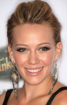 Hilary Duff. Love her makeup here and is perfect for a wedding .