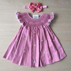 Baby Girl Frocks, Frocks For Girls, Little Girl Dresses, Kids Frocks Design, Baby Frocks Designs, Baby Girl Fashion, Kids Fashion, Cotton Frocks For Kids, Kids Dress Collection
