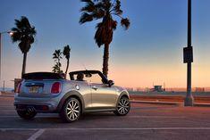 Mini Cooper Models, New Mini Cooper, New Sports Cars, Sport Cars, Mini Cabrio, Mini Cooper Convertible, Mission Beach, Premium Cars, Celebrity Travel