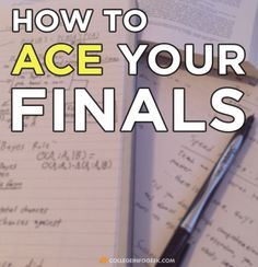 5 awesome study tips for acing your final exams