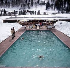 Slim Aarons Vail Colorado1964.  by born.on.the.beach