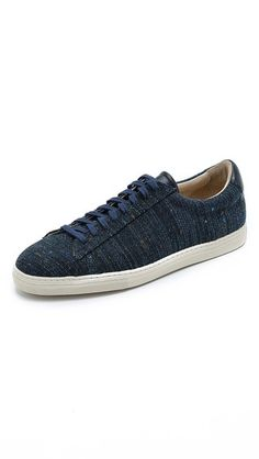 Zespa #4 Flecked Canvas Sneakers
