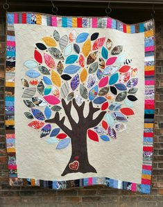 Memory Quilt from family clothes