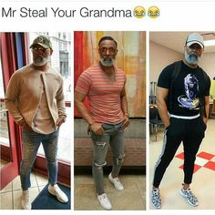 Whose grandad is this??  fans self
